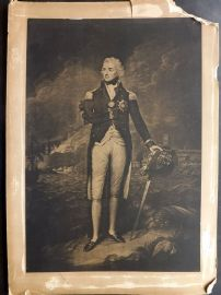 Anon C1890 Large Print. Portrait of Horatio Nelson. Naval